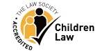 The law society accredited children law logo