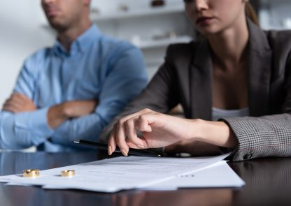What happens to your property upon divorce?